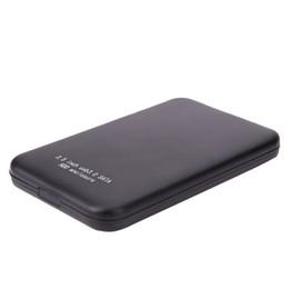 Venda quente 2.5 Caso HDD USB 3.0 Micro USB para SATA Armazenamento Externo HDD Caixa de Alta Velocidade HD Disco Rígido Recinto Caixa Negra frete grátis de Fornecedores de lenovo thinkpad caddy
