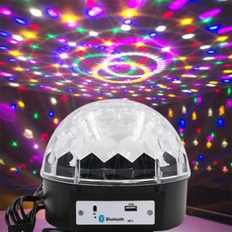 Dj-party-lautsprecher online-LED Bluetooth Lautsprecher Disco-Kugel-Licht mit MP3-Player-Prom Laser-Partei-Licht 12w DJ Stadiums-Licht-Laser-Lampe