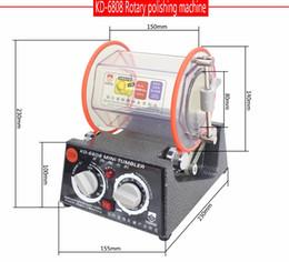 ¡Nuevo! KD-6808 capacidad 3 kg Rotary Tumbler pulido máquina pulidor de la joyería de acabado rotativo desde fabricantes