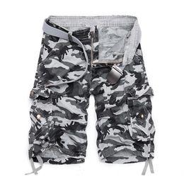 herren-baumwoll-leggings Rabatt 2019 sommer Hot Cotton Camouflage Cargo Shorts Männer Beiläufige Dünne Camo Mens Shorts Militär Mann Bermuda Shorts J190425