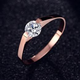 2019 dual-chip-handys Qualitäts-Goldfarben-Schmucksache-klassischer Verlobungsring-3 Größen-Frauen-Hochzeits-Ring-Schmucksache-Tropfen-Verschiffen