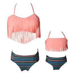 Ropa de combinación familiar Traje de baño dividido de madre e hija Bikini Traje de playa desde fabricantes