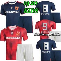 03e2c36b4 KITS infantiles 2019 Club universidad de chile fútbol local camiseta de  fútbol azul SOTELDO HENRIQUEZ ECHEVERRIA UBILLA 19 20 niño BOYS footbal