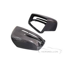vw cc fibre de carbone Promotion TOP Remplacement brillant de couverture de miroir de fibre de carbone Matt pour Mercedes Classe G Amg G55 G63 W463 GL GLE 43 63 Classe M W166 X166