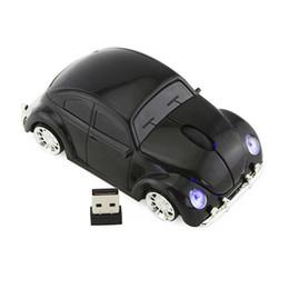 Escarabajo del ratón online-Venta caliente Ratones Inalámbricos Moda Coche Escarabajo En Forma de Ratón 1000DPI 2.4 GHz Ratón Óptico Con Interfaz USB Para Ordenador Portátil PC