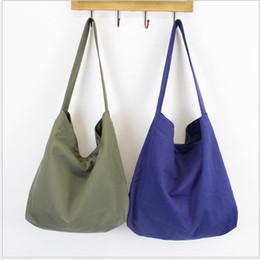 sacchetti di tote del panno del regalo all'ingrosso Sconti Sacchetto di acquisto casuale originale di alta qualità della borsa di spalla della tela di canapa delle borse a tracolla della borsa del sacchetto di modo trasporto libero
