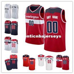 chalecos personalizados Rebajas Barato personalizado de baloncesto Jersey personalizar Cualquier número cualquier nombre Cosido Personalizado marino Azul Rojo Blanco Hombres Jóvenes Mujeres camiseta chaleco Jerseys