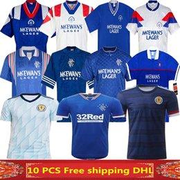 ko Rabatt 2020 Schottland Fußball-Jersey-20 21 Glasgow Rangers Retro Fußball Jersey 96 97 Rangers zu Hause 90 94 96 blau 87 90 92 94 97 99 Fußball-Hemd