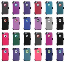 Clip x online-Custodia difensore antigraffio antigraffio per robot ibrido di alta qualità per iPhone X XR XS Max Samsung S9 S10 Plus con clip da cintura Spedizione gratuita