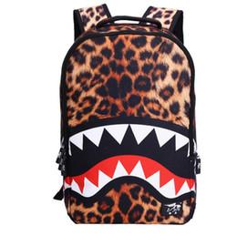2020 mochilas legais para meninos Mochilas masculinas e femininas 19ss New Middle School alunos escola saco Cool do menino de tubarão e mochila da menina mochilas legais para meninos barato