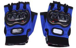 2019 revit moto 1 par medio dedo guantes de motocicleta moto deportes al aire libre paseos transpirables engranajes de protección adecuados para montar de noche