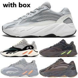 reputable site 84f02 d3818 2019 Inertia Geode Mauve 700 Running Chaussures Wave Runner Hommes Femmes  Designer Sneakers Nouveau 700 V2 Statique Kanye West Chaussures De Sport  Avec ...