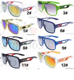 Neue design-brille online-Sommer brandneue Männer Reiten Glasshes fahren Sonnenbrillen Sport Sonnenbrille Frau Fahrrad Glas 12 Designs Mode-Accessoire kostenloser Versand