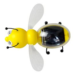 2019 großhandel solargarten neuheiten 2019 NEW solarbetriebene Little Bee Kinder Lernspielzeug Solarbetriebene, ohne Batterie C451