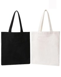 plain white eco bag Coupons - 10 pieces lot Wholesale Promotional Gifts Customized Logo Totes Bag White Eco Bags Solid Color Non-woven