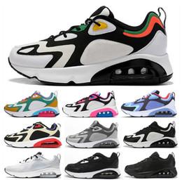 200 React Rasta Mystic Green Royal Pulse Herren Laufschuhe Herren Damen 200s 2019 1996 Triple White Gold All Black Trainer Sneakers Größe 36 45