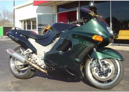 Ninja verkleidungen 93 online-Motorrad für KAWASAKI Ninja ZZR1100 93 00 01 03 Verkleidungs-Set ZX11 ZZR1100 1993 2000 2003 Fairings set + Geschenke KM25
