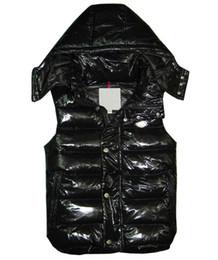 Piuma giù gli uomini della maglia online-Alta qualità francese nuovo marchio di marca Uomini e donne inverno piumino classico piuma weskit giacche donna gilet casual cappotto