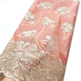 vestido de noiva de tecido líquido Desconto Tecido de Renda africano 2019 Cordão de Alta Qualidade Nigeriano Tecido de Renda De Casamento Francês Tule Tecido de Renda Líquida Para Vestidos