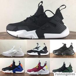 2019 Novo Huarache 5.0 Sigla Cidade MEIO Couro Sapatos de Corrida Dos Homens de Alta Qualidade Air Huarache 6 Ao Ar Livre Sapatos Da Moda Esportes