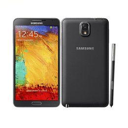 samsung 4g telefone Rabatt Generalüberholtes originales Samsung Galaxy Note 3 N9005 Quad-Core-Telefon, 5,7 Zoll, 3 GB RAM, 32 GB ROM, 13 MP, 4 G LTE