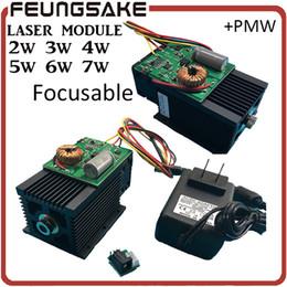 Cnc-modul online-DIY Focusable 5 Watt lasermodul 5,5 watt Lasermodul, 7 watt High-power Für CNC Cutter Graviermaschine, 2 watt 2,5 watt modul 445nm