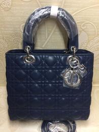 Damenbrandmarke online-Die neueste Top-Marke Designer Ledergürtel Griff Umhängetasche Marke klassischen Ball Muster Damen Handtasche Messenger Bag Wallet
