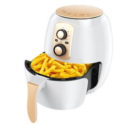 CUKYI 220 В 1400 Вт безмасляный электрический фритюрница 3.8 л автоматическая картофель фри машина здоровой пищи приготовления горшок электрическая печь от