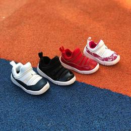 Scarpe da scuola blu online-2019 nuovo 11 Retro Low Navy Blue Snakeskin bambini ragazzo ragazze pre scuola scarpe da basket di alta qualità 11s XI bambino scarpe da tennis prime scarpe Walker