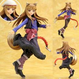 2019 figuras de ação de anime adulto Spice and Wolf Holo Sexy Anime Action Figure Art Menina Big Boobs Tokyo Japão Adulto Produtos Boneca Frete Grátis PVC Frete Grátis figuras de ação de anime adulto barato