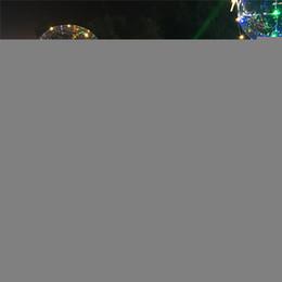 celos de plástico berço Desconto LED Flashing Lights Balões Noite Iluminação Luz Cordas Bobo Bola Multicolor Decoração Balão natal Wedding partido presentes decorativos