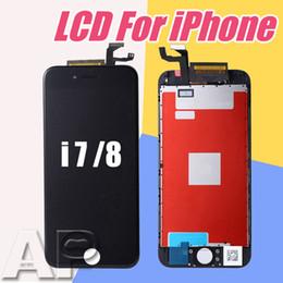 Telas lcd para telefones on-line-Alta qualidade display lcd para iphone 7/8 touch screen digitador assembléia telefone peças de reposição 4.7 polegada