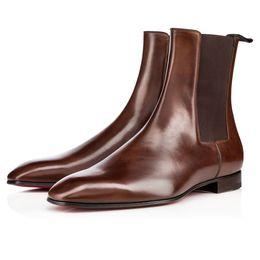2020 botas de mujer desnuda Hombres Mujeres Moda Luxurys elegante botas altas desnudas Zapatos rojos de fondo, para el partido de boda hombres que caminan botas de cuero Knight rebajas botas de mujer desnuda