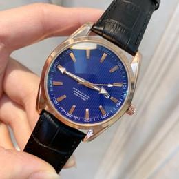 2019 настольные часы 2019 Whosale Цена новая мода человек часы черная кожа розничные часы высокого класса часы мужские роскошные наручные часы топ дизайн часы хороший стол дешево настольные часы