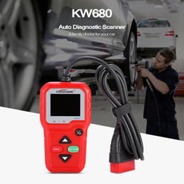 opel can Coupons - Konnwei KW680 Code Reader Car OBD II CAN Auto DKONNWEI KW680 iagnostic obd2 Scanner Multiple Languages KW 680 Diagnostic Tool with Free Gift