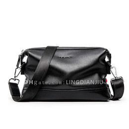 нейлоновая кожаный портфель Скидка New Business Handbag Fashion Leisure Мужская сумка на одно плечо Простая езда Кортикальная сумка наклона Розничная упаковка