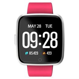 mora intelligente orologio Sconti Y7 Smart Fitness Cinturino orologio 3 ID115 Plus Blood Pressure Oxygen Sport Tracker Guarda cardiofrequenzimetro Wristband Pk dz09 gt08