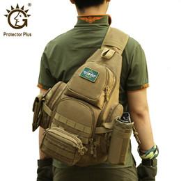 2019 sacos de ardência de ombro tático 35L Militar Backpack ombro tático, impermeável Molle Militar Sling sacos para homens, Camping Caminhadas esporte da caça do Exército Mochilas T191026 desconto sacos de ardência de ombro tático