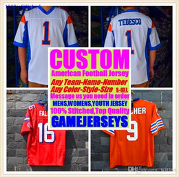 All Stitched Custom camisetas de fútbol americano Los Angeles Team College Auténtico barato Béisbol Béisbol Baloncesto Jersey 4xl 6xl 7xl grande desde fabricantes
