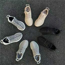 Классические женские туфли оксфорда онлайн-2019 Kanye West v1 статического пират черного горлица Moonrock Оксфорд Классических Грея blaek мужчин женской обуви Дизайнерской обувь
