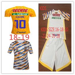 New Mexico League GIGNAC maglia da calcio Club LIGA MX CF Tigres UANL 3RD Thai uomini calcio Camicia e bambini Nome personalizzato da
