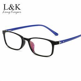 8e854dcdf66 TR90 Glasses Frame Men Myopia Eye Glass Prescription Eyeglasses 2018 Korean  Square Optical Frames Eyewear Spectacle NO Degree