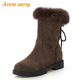 33662796f 2019 Novas Mulheres de Inverno Ankle Boots Calcanhar Médio Dedo Do Pé  Redondo Banda Estreita Moda Sexy Mulheres Sapatos Quentes Botas Curtas  Tamanho Grande ...