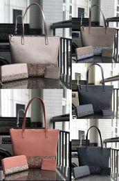 escritório sacos casuais cruz Desconto maior brilho bolsa set designer marca dos retalhos sacos de compras brilhando ombro crossbody pu totes bolsa feminina 5 cores