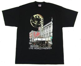 2019 moda de apolo KORN Edições Live World Premier Apollo 1999 Preto  Camiseta XL Novo Oficial 540d3ed9a800f