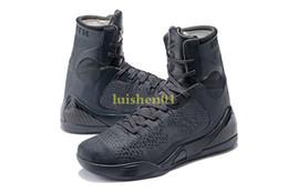 Pas cher vente kobe 9 haut tissage BHM / Pâques / Chaussures de basketball de qualité supérieure pour les hommes de qualité KB 9s formateurs baskets sportives taille 40-46 V10 ? partir de fabricateur