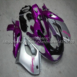 2019 kit de carenagem rosa yamaha Presentes + Parafusos painéis de motocicleta rosa prata para Yamaha YZF1000R 1997 2007 ABS motor de plástico kit de Carenagem kit de carenagem rosa yamaha barato