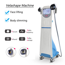 Máquina de rolos de gordura on-line-Velashape Vaccum Roller perda de peso máquina RF vácuo perda de gordura vela forma pele aperto Beleza equipamentos