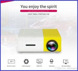 billige mini lcd projektoren Rabatt Die Fabrik, die Yg300 verkauft, führte tragbaren Projektor 400-600lm 3.5mm Audio 320 x 240 Pixel Yg-300 Hdmi Usb-Miniprojektor-Ausgangsmedien-Spieler