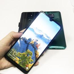 2019 mini sim téléphones cellulaires android goophone mate 20pro téléphone portable 6.2inch Quad Core smart phone 1GB 4GB en plein écran Afficher Fake 4G LTE Android7.0 Téléphone débloqué